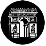 Standardstahlgobo Rosco Arc de Triomphe 77304