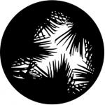 Standardstahlgobo Rosco Dense Palm 77282  (Design by Andrew Bridge)