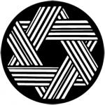 Standardstahlgobo Rosco Geometrics 12 77396