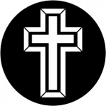 Standardstahlgobo Rosco 3D Cross 1 78065