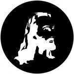 Standardstahlgobo Rosco Christ 78514