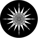 Standardstahlgobo Rosco Compass Rose 77439