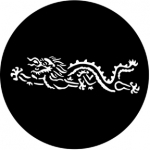 Standardstahlgobo Rosco Chinese Dragon 77558