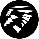 Standardstahlgobo Rosco Flying Shapes 1 77565