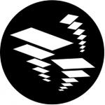 Standardstahlgobo Rosco Flying Shapes 2 77566
