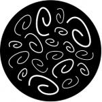 Standardstahlgobo Rosco Curly Coils 77577