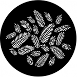 Standardstahlgobo Rosco Ferns 77593
