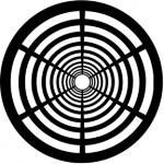 Standardstahlgobo Rosco Geometrics 13 77648