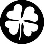 Standardstahlgobo Rosco Four Leaf Clover 77668