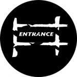 Standardstahlgobo Rosco Entrance 2 77685