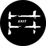 Standardstahlgobo Rosco Exit 2 77686