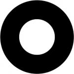 Standardstahlgobo Rosco Apperture 1 77725 (Design by Robert Davis)