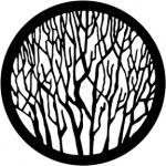 Standardstahlgobo Rosco Bare Branches 1 77735 (Design by Robin Wagner)