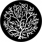 Standardstahlgobo Rosco Bare Branches (Reversed) 77778 (Design by David Hersey)