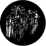 Standardstahlgobo Rosco Forest 77841 (Design by Don Darnutzer)