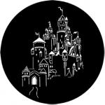 Standardstahlgobo Rosco Fantasy Castle 77842 (Design by Don Darnutzer)