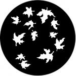 Standardstahlgobo Rosco Autumnal 77857 (Design by KC Hooper)