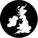 Standardstahlgobo Rosco British Isles 77875