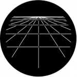 Standardstahlgobo Rosco Computer Grid 77880