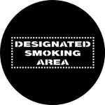 Standardstahlgobo Rosco Designated Smoking Area 77881