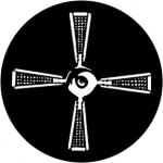 Standardstahlgobo Rosco Fan 77924