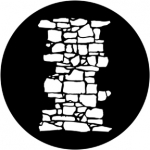 Standardstahlgobo Rosco Dry Stone Wall 1 77950