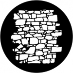 Standardstahlgobo Rosco Dry Stone Wall 2 77951