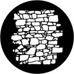 Standardstahlgobo Rosco Dry Stone Wall 2 77951