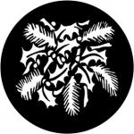 Standardstahlgobo Rosco Christmas Leaves 77954