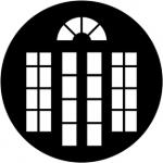 Standardstahlgobo Rosco French Doors 2 77976