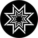 Standardstahlgobo Rosco Concentric Stars 78004
