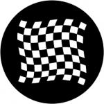 Standardstahlgobo Rosco Chequered Flag 1 78050