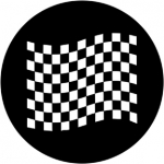 Standardstahlgobo Rosco Chequered Flag 2 78051