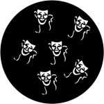 Standardstahlgobo Rosco Drama Masks 78110