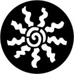 Standardstahlgobo Rosco Abstract Cartwheel 78166