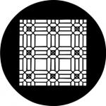Standardstahlgobo Rosco Decorative Lattice 78202