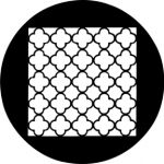 Standardstahlgobo Rosco Chinese Lattice 78210