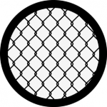 Standardstahlgobo Rosco Chain Link 78258