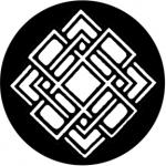 Standardstahlgobo Rosco Decor Grid 78406