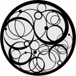 Standardstahlgobo Rosco Astrolab 78416 (Design by Paul Palazzo)