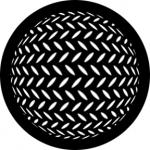 Standardstahlgobo Rosco Diamond Sphere 78444
