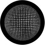 Standardstahlgobo Rosco Grid Sphere 78445