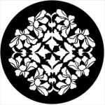 Standardstahlgobo Rosco Flower Grill 78526