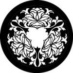 Standardstahlgobo Rosco Chrysanthemum Rose 78531