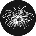 Standardstahlgobo Rosco Fireworks 6 78602