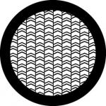 Standardstahlgobo Rosco Arrow Weave Open 78610