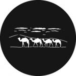 Standardstahlgobo Rosco Camel Train 78619