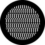 Standardstahlgobo Rosco Curved Texture 78624