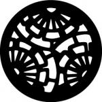 Standardstahlgobo Rosco Fan Pattern 78639