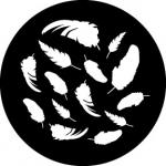 Standardstahlgobo Rosco Feather Breakup 78640